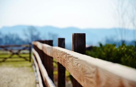 Фото Деревянный забор в макросъемке (© Sharply), добавлено: 01.08.2013 15:12