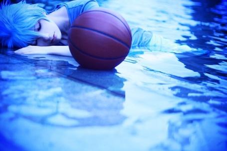 Фото Косплей Куроко Тетсуя / Kuroko Tatsuya из аниме Баскетбол Куроко / Kuroko no Basuke