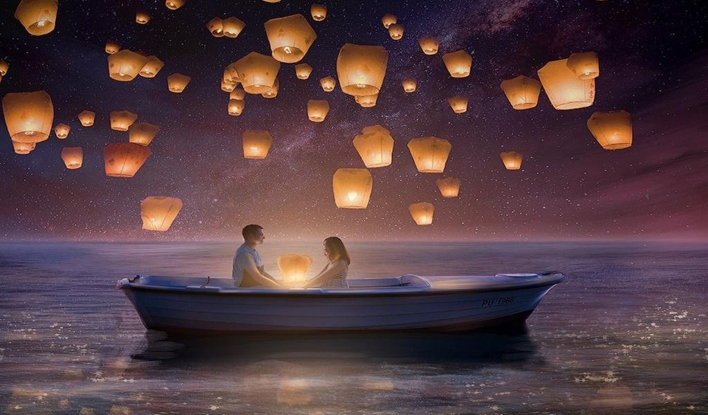 Романтические картинки для сна