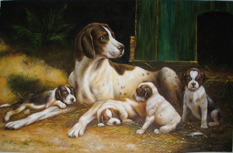 Картинка собака с щенком для детей, картинки надписями обиделась
