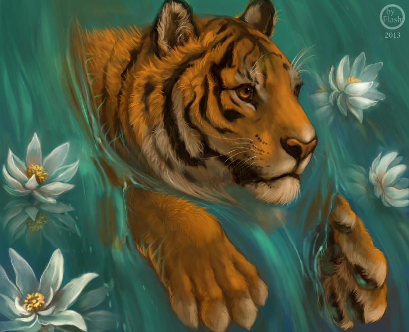 Картинки для декупажа львы тигры