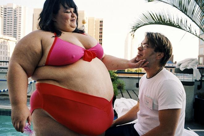 Очень жирная баба и мужик, порнушка самые большие белые члены