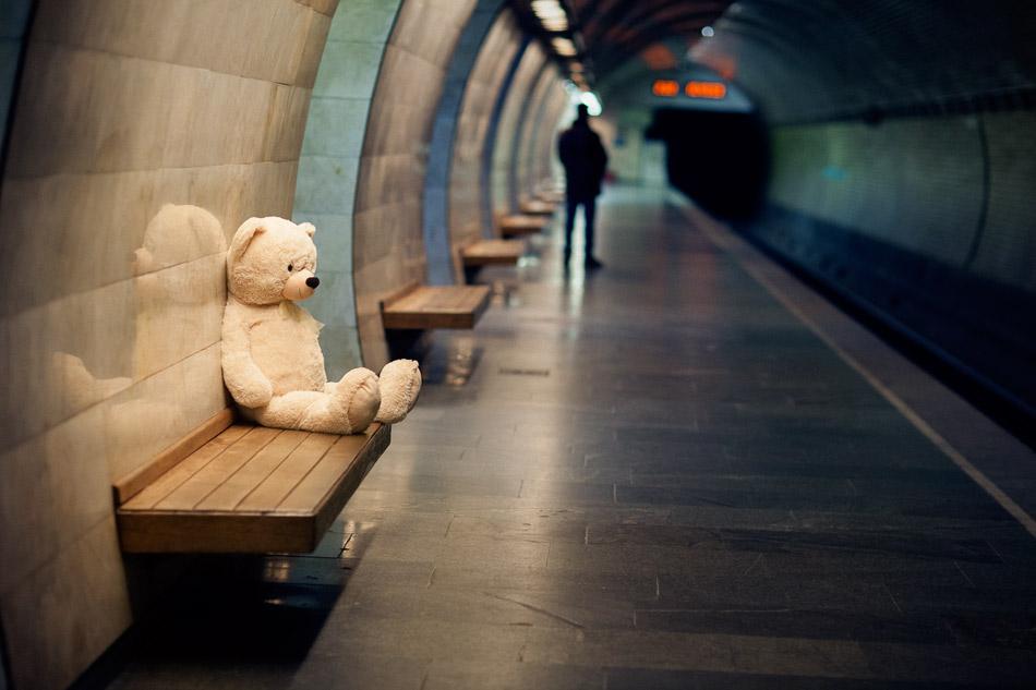 картинки человечки в метро прихожих низкими