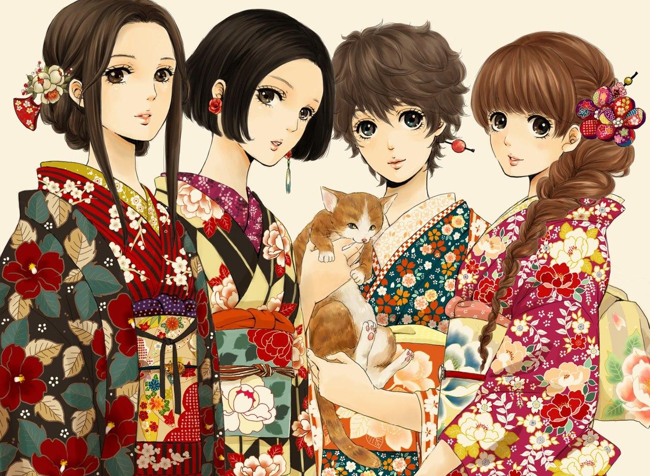 Японка в белом фото 23 фотография