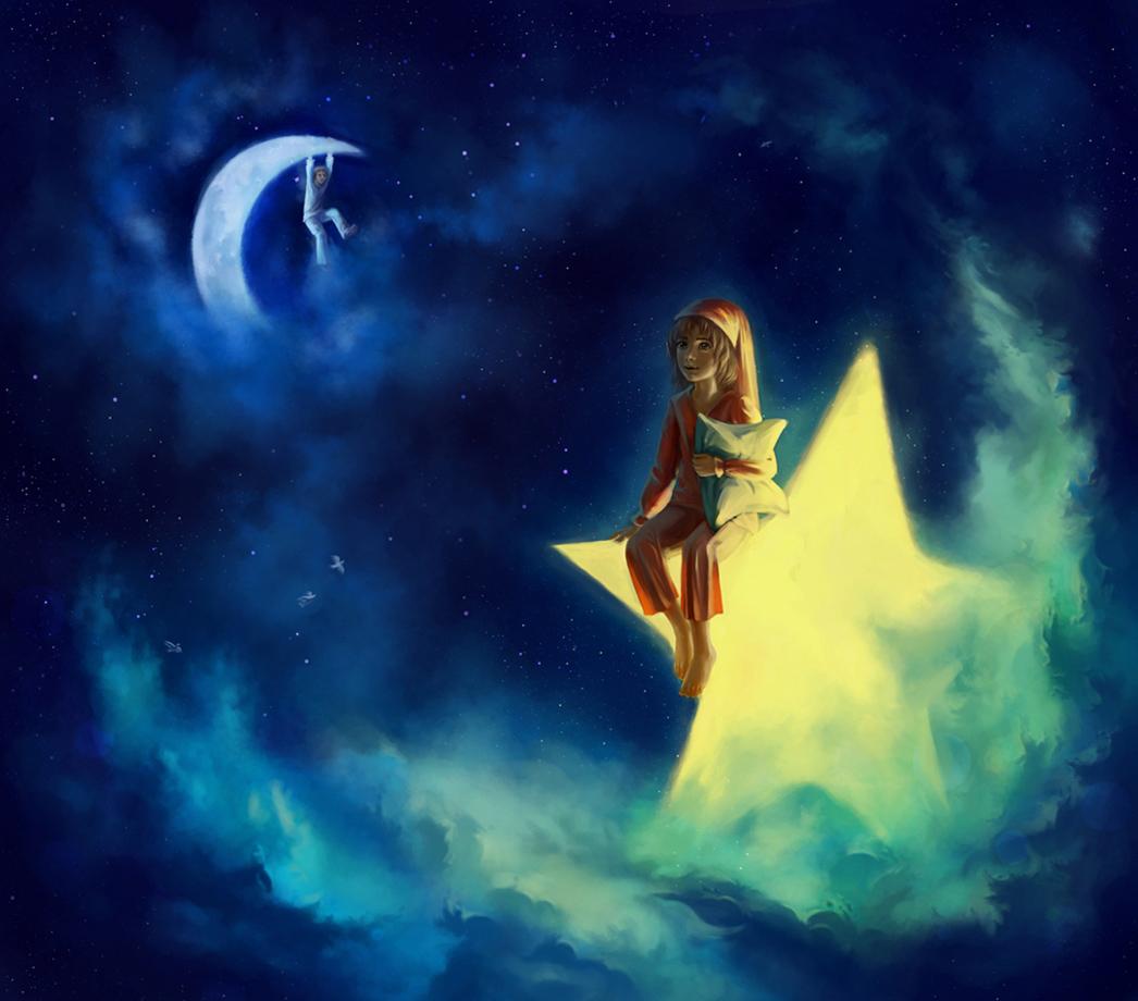 Яркая звезда во сне