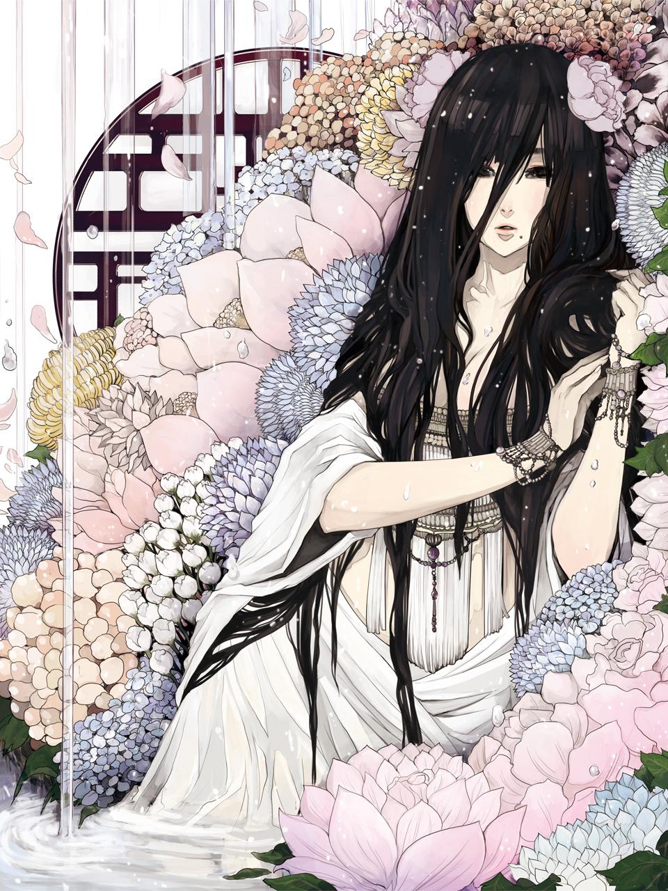 общем объеме арты в белом цвете супруги были