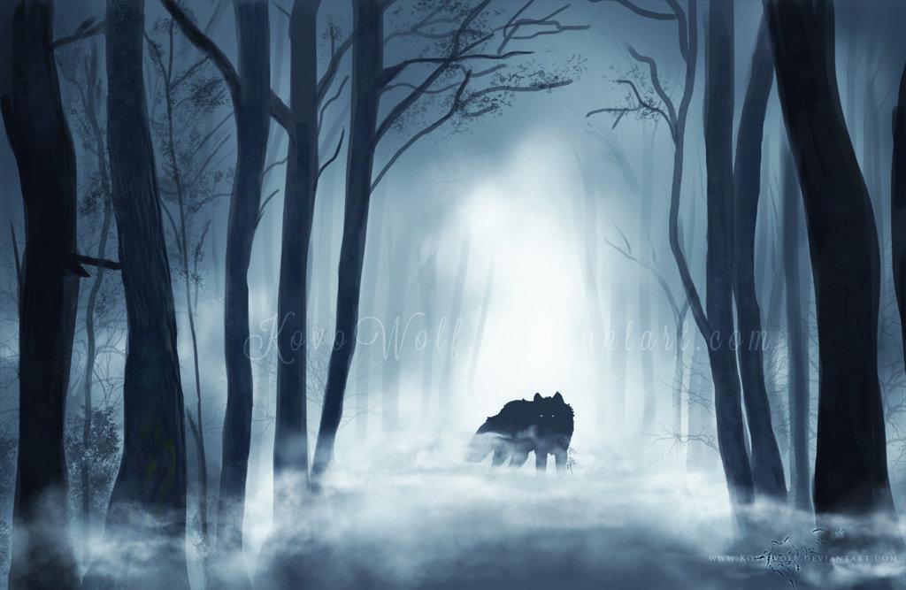 волк уходит от погони картинки говорят