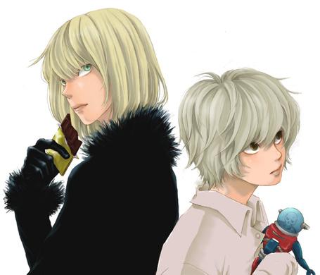 Фото Mello / Мэлло и Near / Ниа из аниме Тетрадь Смерти / Death Note