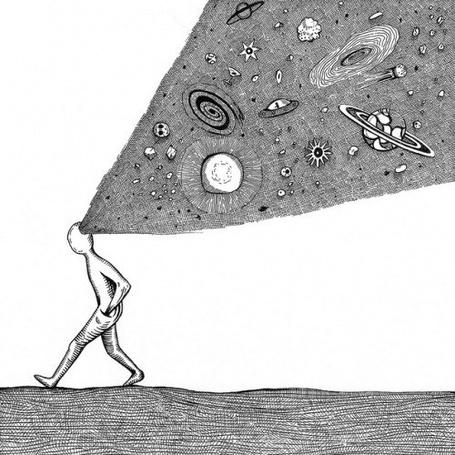 Фото Космос в виде подсознания человека (© Pantomime), добавлено: 17.10.2013 07:29