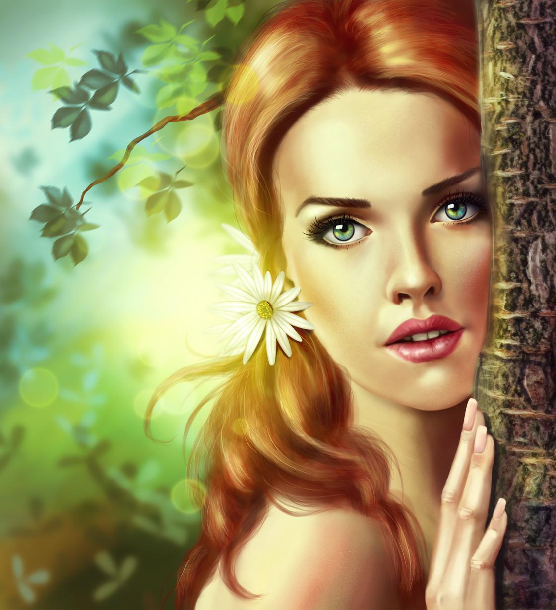 Очаровательная девушка по имени - Весна!, автор IgnisFatuusII