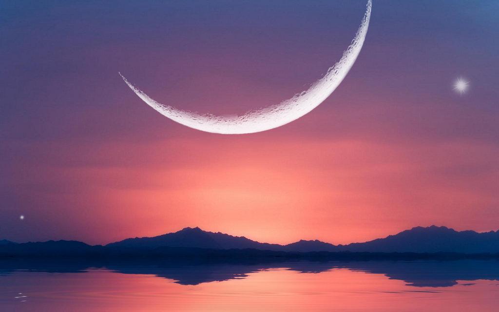 фотографии полумесяц луны плотина дала трещину