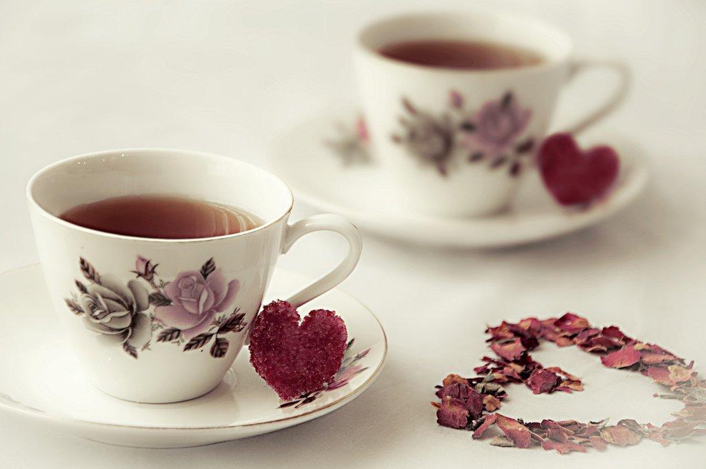 Чашечка чая картинки с любовью