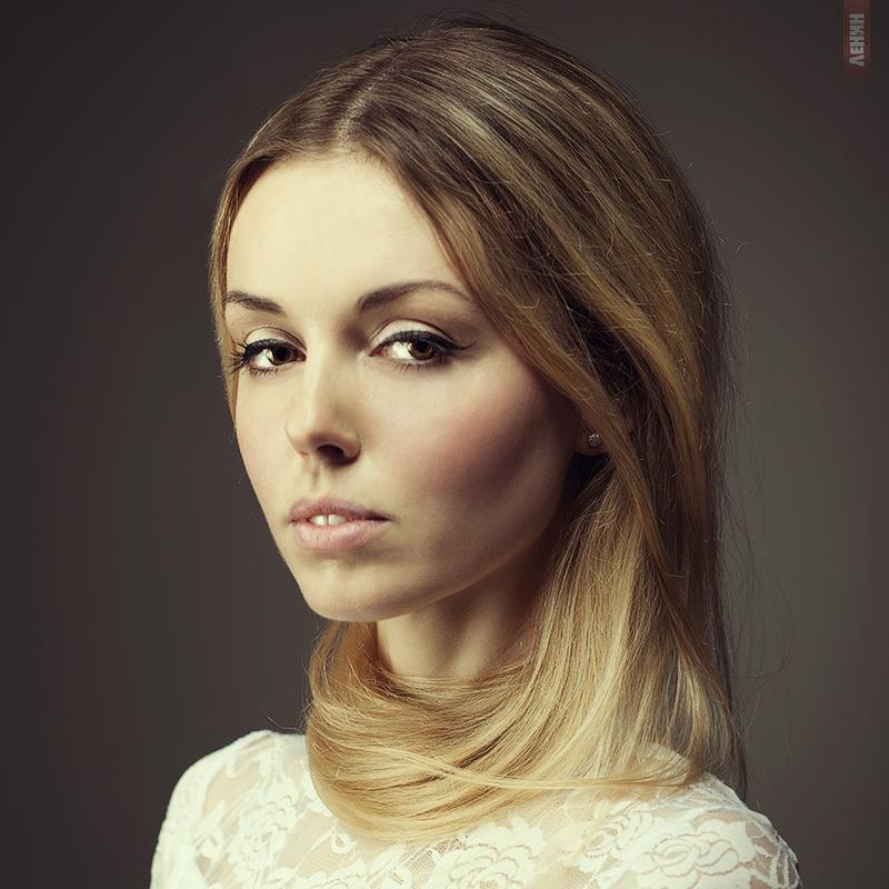 Фото портрет красивой девушки работа