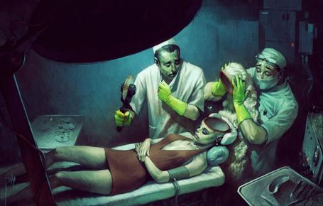 Фото Два врача вскрыли девушке голову, в которой нет мозгов