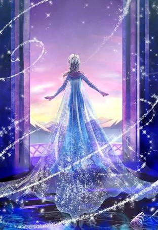 Фото Эльза / Elsa из мультфильма Холодное сердце / Frozen