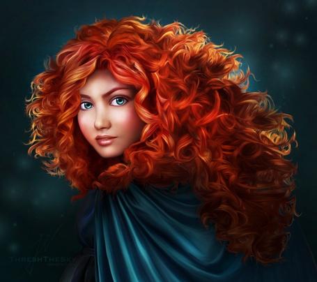 Фото Princess Merida / Принцесса Мерида из мультфильма Brave / Храбрая сердцем