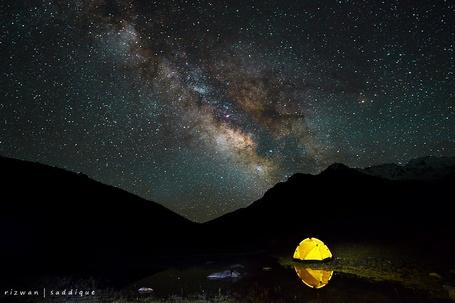 Фото красивого неба ночного