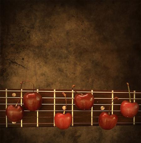 Фото Черешня на грифе гитары (© Solist), добавлено: 27.02.2014 23:57
