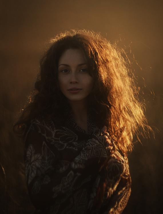 Фото Девушка в солнечном свете, фотограф Давид Д