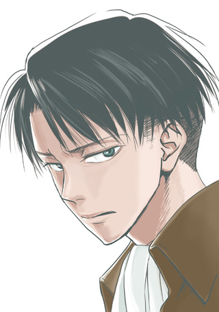 Фото Леви Райвель (Ривай) / Levi Rivaille (Rivai) из аниме Shingeki no Kyojin / Атака Титанов
