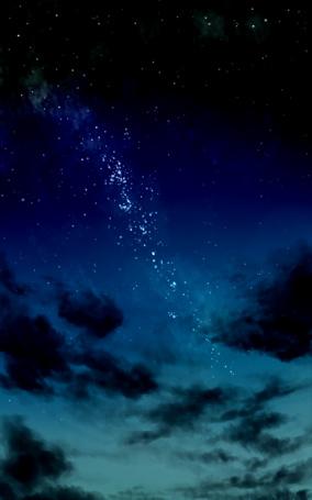 Фото Млечный путь в ночном небе, art by kibunya 39