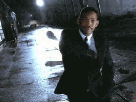 Фото Агент K / Кей из фильма Люди в черном / Men in Black со стирателем памяти