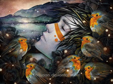 Фото Парень спит в окружении птиц, by Laovaan (© zmeiy), добавлено: 25.03.2014 09:11