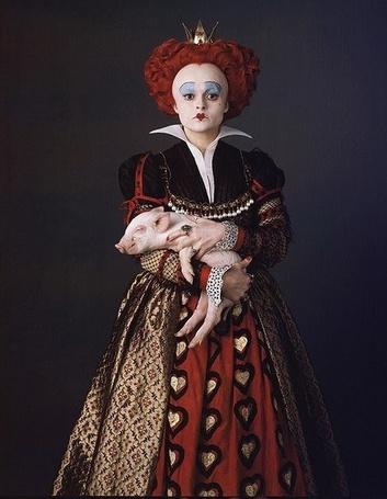 ���� ��������� �������� / Queen of Hearts � ���������� ������ ����� ������ / Helena Bonham Carter � ���������� �� �����, ����� � ������ ����� / Alice�s Adventures in Wonderland (� Radieschen), ���������: 27.03.2014 09:06