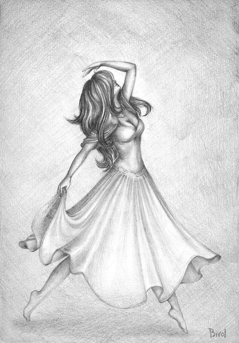 Фото Танцующая девушка, работа ...: photo.99px.ru/photos/146589