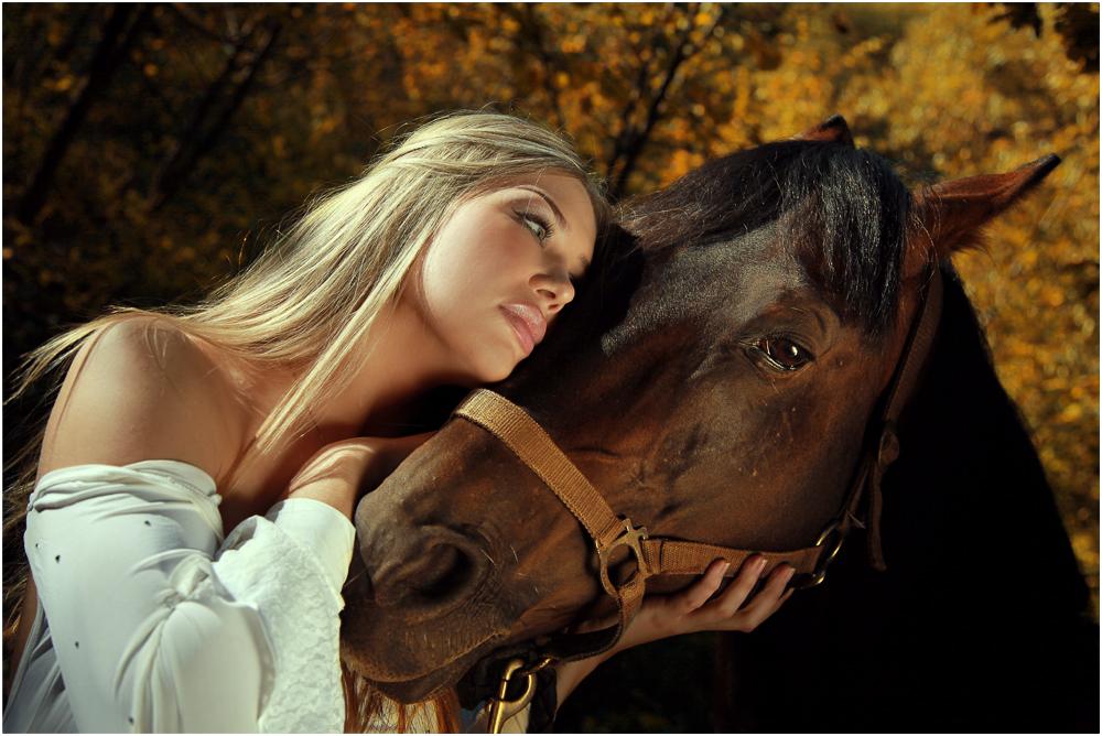 Анимация картинки девушка и лошади, открытки день