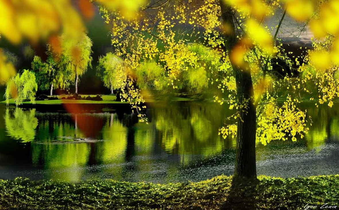 Фото Весенний пейзаж, работа апрель, фотограф Igor Zenin