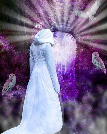 Фото жены в красивом белом нижнем белье