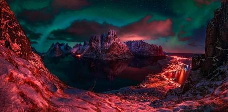 Фото Окруженное горами озеро, фотограф Max Rive