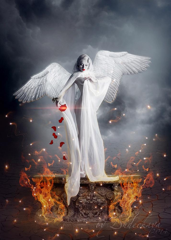 фото ангелов на телефон возвращался