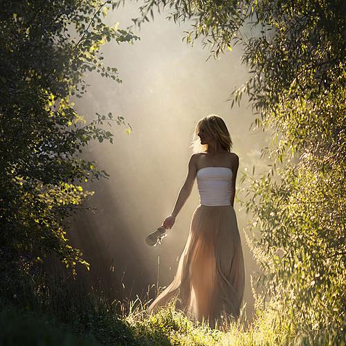 Девушка -Весна фотограф Elena Shumilova / Елена Шумилова