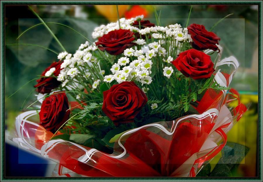 Очень красивые цветы букет цветов с надписями