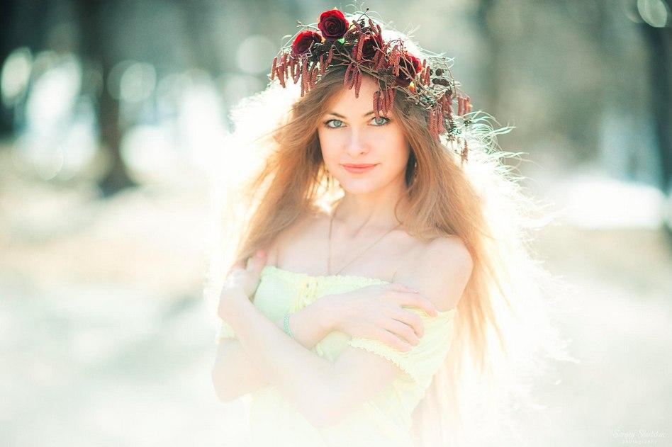 Девушка -Весна, by Sergey Shatskov