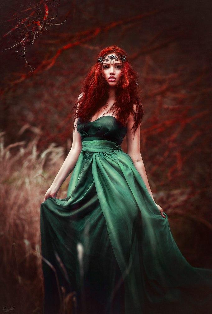 Платья Для Рыжеволосых