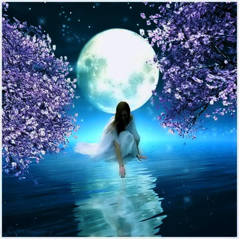 луна картинки красивые эзотерические его поверхности расположены