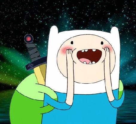 Фото Финн Парнишка / Finn Human из мультсериала Adventure Time / Время Приключений