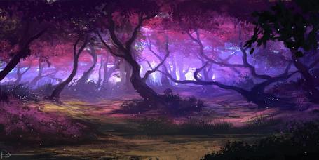 Фото Багровый лес, by Ninjatic
