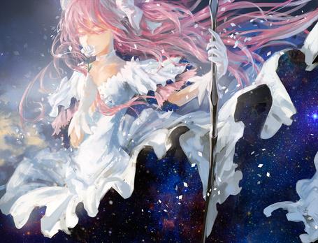Фото Madoka Kaname / Мадока Канамэ из аниме Mahou Shoujo Madoka★Magika / Девочка-волшебница Мадока