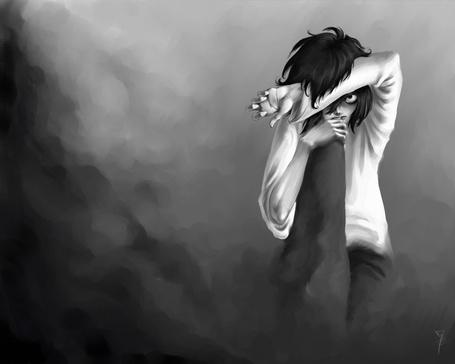 Фото Эл Лолайт / L Lawliet из аниме Тетрадь Смерти / Death Note