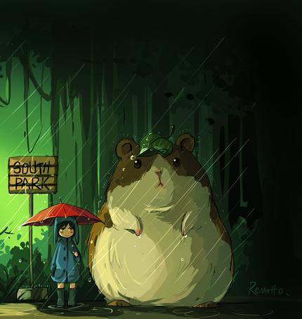 Фото Крэйг Такер и Стрип из мультфильма Южный парк / South Park, art by remotto