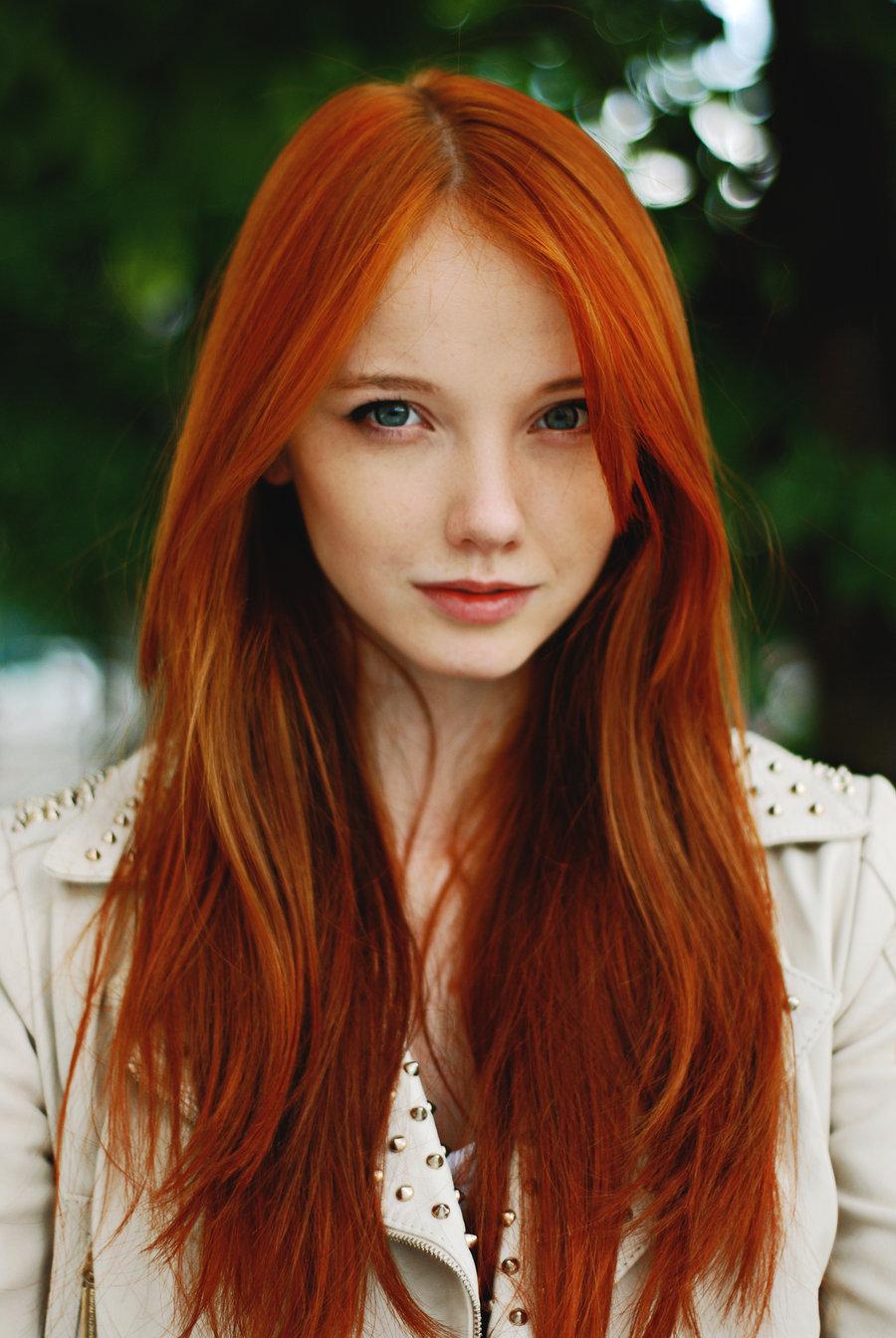 Самые красивые фото рыжих девушек в россии 24 фотография