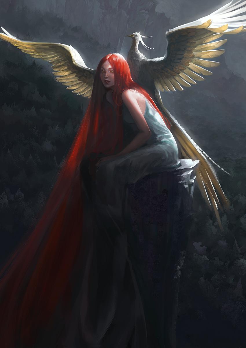 волосы могут ангел с красными крыльями картинки верхние