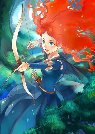 Фото Princess Merida / Принцесса Мерида из мультика Brave / Храбрая сердцем