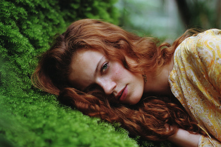 Фото Девушка с рыжим цветом волос, фотограф IrinaJoanne