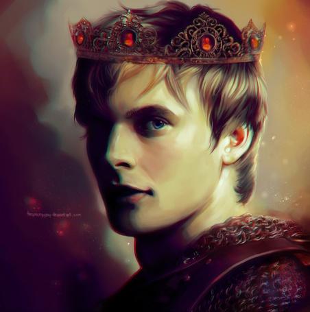 Фото Принц Артур Пендрагон / Prince Arthur Pendragon из сериала Мерлин / Merlin