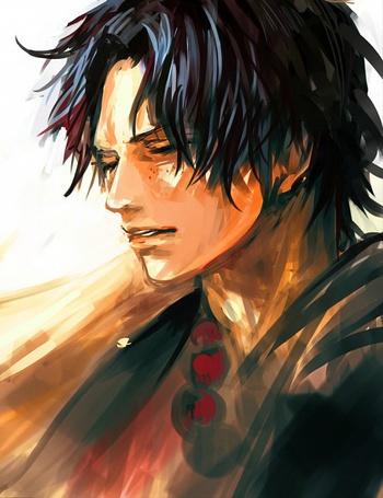 Фото Портгас Д. Эйс / Portgas D. Ace из аниме Ван Пис / One Piece (© Maya Natsume), добавлено: 03.07.2014 16:19